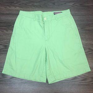 Vineyard Vines Lime Green Club Shorts 33